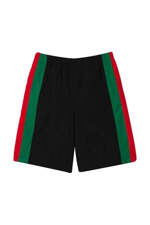 Shorts with multicolor stripes Gucci kids GUCCI KIDS | 30 | 591619XWAGV1043