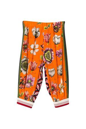 Pantaloni sportivi con stampa multicolor Gucci Kids GUCCI KIDS | 9 | 595393ZJQ437726