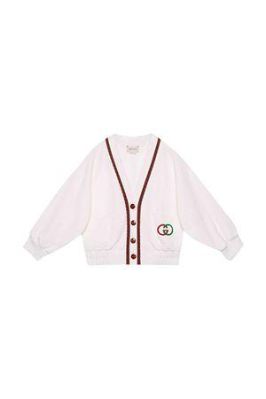 Cardigan bianco Gucci kids GUCCI KIDS | 39 | 596256XJBL19061
