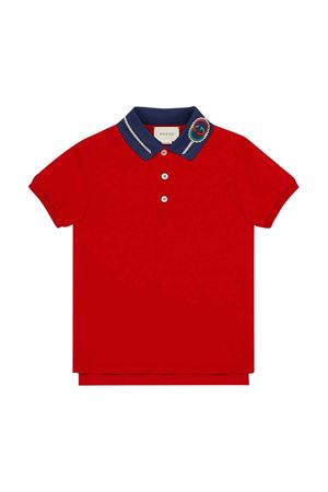 Red polo shirt Gucci kids GUCCI KIDS | 2 | 599942XJB3F6562