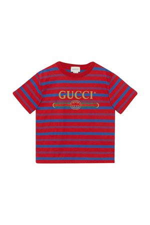 T-shirt rossa Gucci kids GUCCI KIDS | 8 | 600002XJCC86152