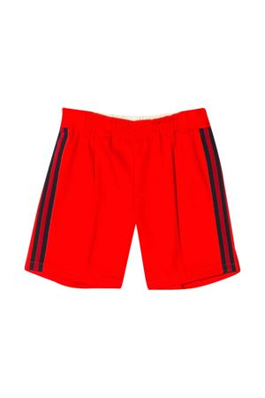 Red sport shorts with side bands Gucci kids GUCCI KIDS | 30 | 600271XWAIW6007