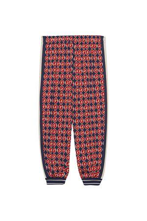 Gucci kids blue jogging pants  GUCCI KIDS | 9 | 600367XJB3R6431