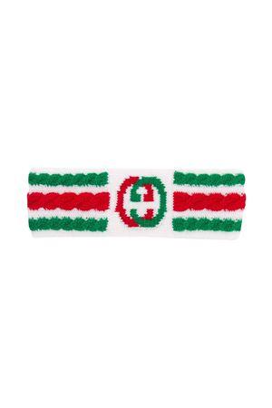 Fascia bianca con motivo multicolor Gucci kids GUCCI KIDS | 5032298 | 6037974K9759266