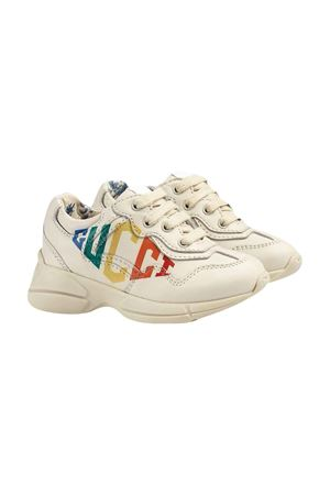 Gucci kids white sneakers  GUCCI KIDS | 12 | 603879DRW009022