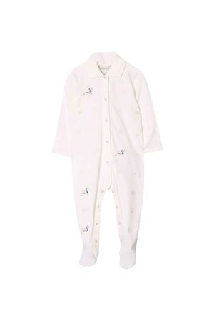 Ivory romper with frontal embroidery Gucci kids GUCCI KIDS | 1491434083 | 605411XJCBB9200