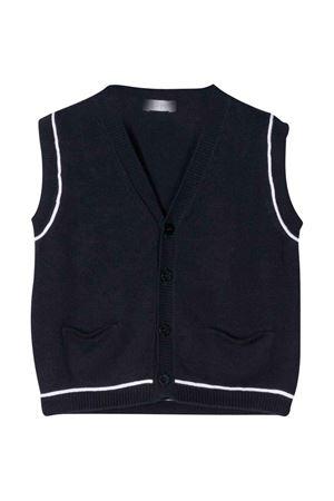 Blue vest with white line Il Gufo IL GUFO | 38 | P20GL057EM2004901