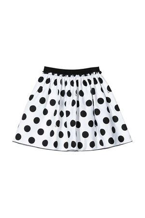 White skirt with black polka dots Il Gufo kids  IL GUFO | 15 | P20GN171C4056099G