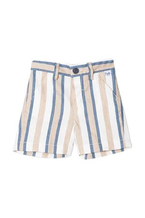 Multicolor striped bermuda shorts Il Gufo IL GUFO | 30 | P20PB006C1065484