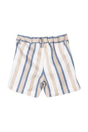 Multicolor striped bermuda shorts Il Gufo IL GUFO | 30 | P20PB006C1065484
