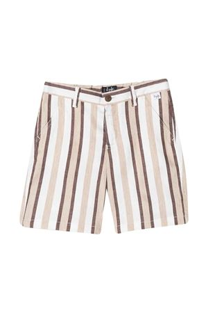 Striped bermuda shorts Gufo kids  IL GUFO | 30 | P20PB069C1065192