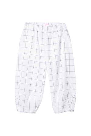 White squared trousers Il Gufo IL GUFO | 9 | P20PL299C3115099