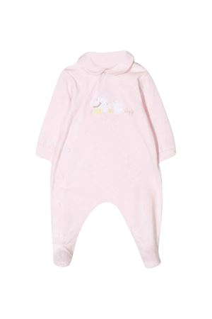 Pink romper with central press Il gufo IL GUFO | 1491434083 | P20TP250M00143031