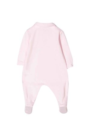 Pink romper with central press Il gufo IL GUFO | 1491434083 | P20TP250M00143031