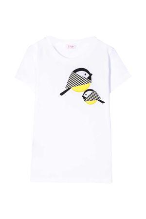 White t-shirt Il Gufo kids IL GUFO | 8 | P20TS251M00140109