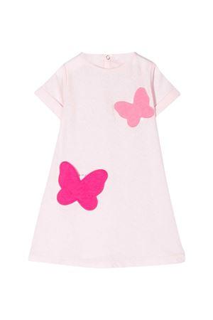 Pink dress with application Il Gufo IL GUFO | 11 | P20VM566M00143035