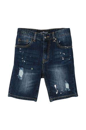 Shorts denim effetto vissuto John Richmond kids JOHN RICHMOND KIDS | 30 | RBP20235BEBLUE