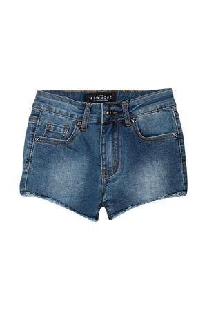Shorts denim teen con logo John Richmond kids JOHN RICHMOND KIDS | 30 | RGP20025SHBLUE/FUCSIAT