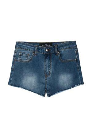 Shorts denim slim con logo John Richmond kids JOHN RICHMOND KIDS | 30 | RGP20025SHBLUE/LEMON