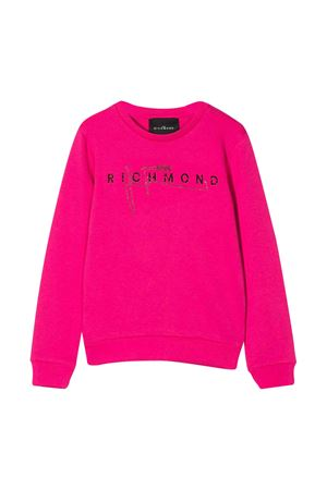 Fuchsia sweatshirt John Richmond kids teen  JOHN RICHMOND KIDS | -108764232 | RGP20199FEFUXIAT