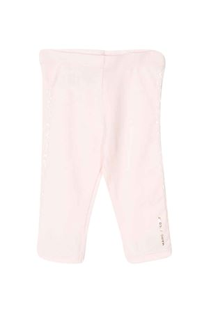 Pantalone rosa con logo laterale Little Marc Jacobs kids Little marc jacobs kids | 411469946 | W0417445K
