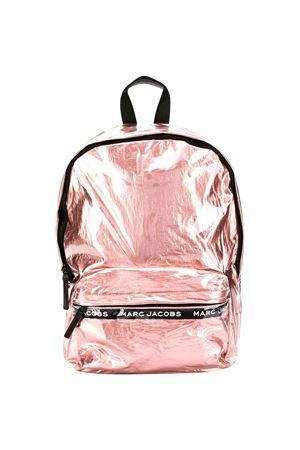 Zaino rosa metallizzato con stampa logo Little Marc Jacobs kids Little marc jacobs kids   5032345   W10148596