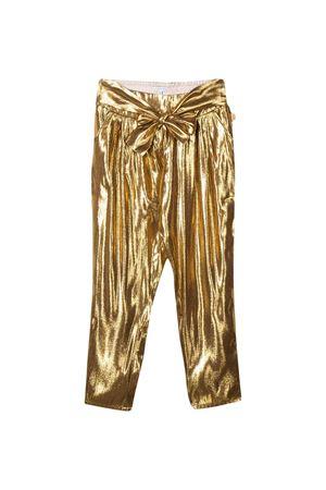 Gold trousers Little Marc Jacobs kids teen  Little marc jacobs kids | 9 | W14229593T