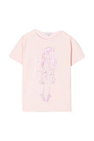 T-shirt rosa Let