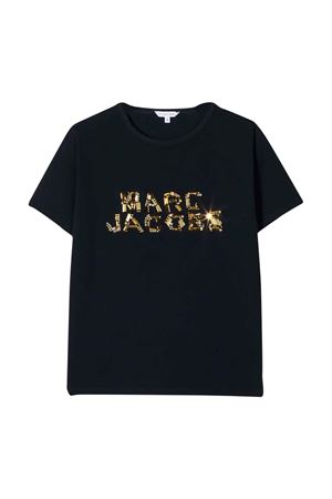 T-shirt blu Little Marc Jacobs kids Little marc jacobs kids   8   W15500849
