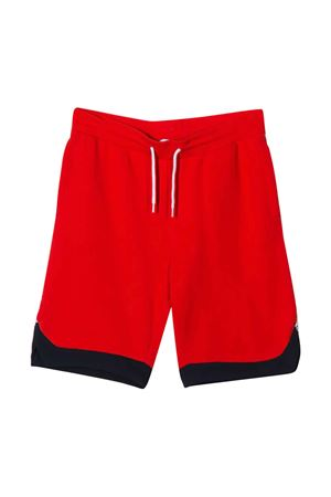 Shorts sportivi teen rossi con logo Little Marc Jacobs kids Little marc jacobs kids   30   W24213997T