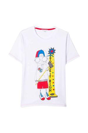 T-shirt bianca Little Marc Jacobs kids Little marc jacobs kids   8   W2541410B
