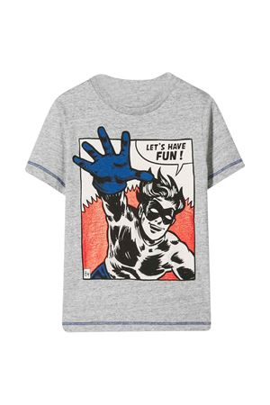 T- shirt grigia Hero Little Marc Jacobs kids Little marc jacobs kids   8   W25416A35