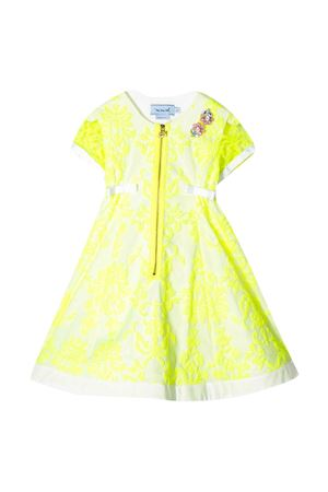 MI MI SOL kids yellow dress  MI.MI.SOL | 11 | MFAB073TS0221YLW