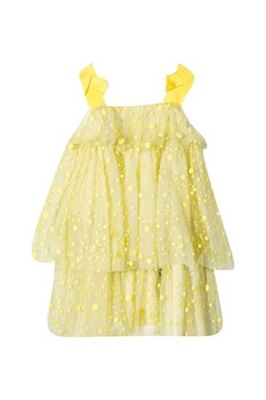MI MI SOL kids yellow dress  MI.MI.SOL | 11 | MFAB093TS0173YLW