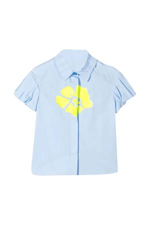 MI MI SOL kids light blue shirt  MI.MI.SOL | 5032334 | MFCA013TS0053LTB