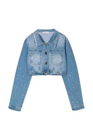 Jeans jacket with classic collar Miss Blumarine Miss Blumarine | 13 | MBL2090JEANS