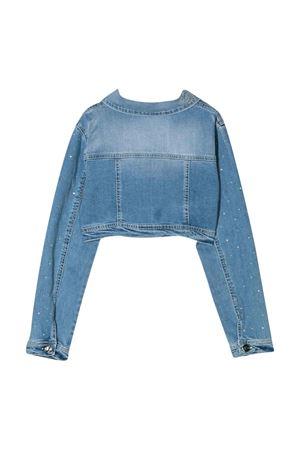 Giubbino di jeans con manica lunga Miss Blumarine Miss Blumarine | 13 | MBL2090JEANS
