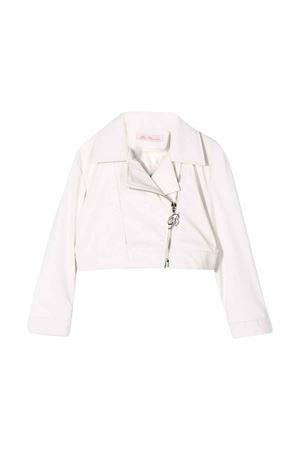 White crop jacket Miss Blumarine Miss Blumarine | 13 | MBL2102PANNA