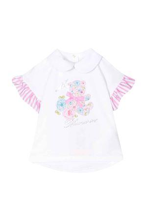 White Miss Blumarine t-shirt  Miss Blumarine | 8 | MBL2389SETA