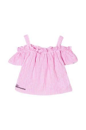 Miss Blumarine pink checkered top  Miss Blumarine | 40 | MBL2519UNICO