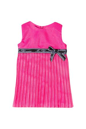 Fuchsia Miss Blumarine checkered dress  Miss Blumarine | 11 | MBL2525ROSAFLUO