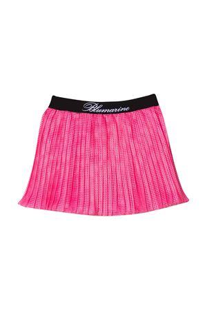Miss Blumarine pleated fuchsia checkered skirt  Miss Blumarine | 15 | MBL2535ROSAFLUO