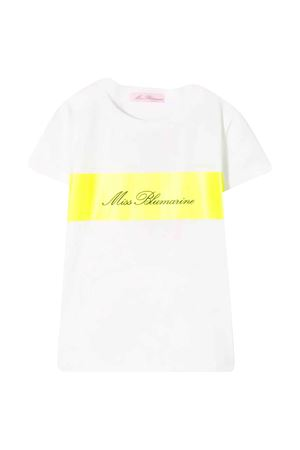 T-shirt bianca Miss Blumarine Miss Blumarine   8   MBL2550B/G