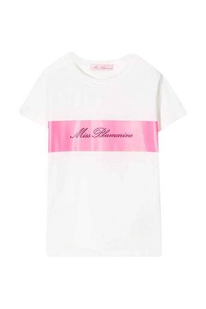 White Miss Blumarine t-shirt  Miss Blumarine | 8 | MBL2550B/R