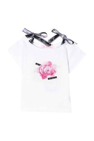 T-shirt bianca Miss Blumarine Miss Blumarine | 8 | MBL2561SETA