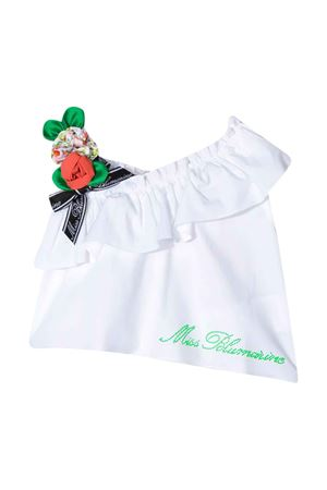 White Miss Blumarine top  Miss Blumarine | 40 | MBL2627BIANCO