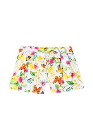 Floreal multicolor shorts Miss Blumarine Miss Blumarine | 30 | MBL2628UNICO