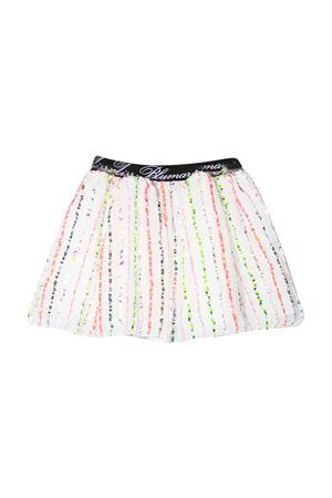Tutu skirt with multicolor sequins Miss Blumarine Miss Blumarine | 15 | MBL2660UNICO