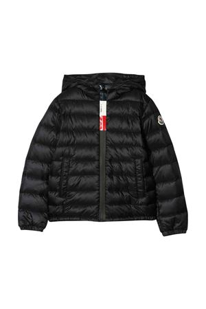 Giubbino nero modello Rook con zip e cappuccio Moncler kids Moncler Kids | 13 | 1A1042053334999