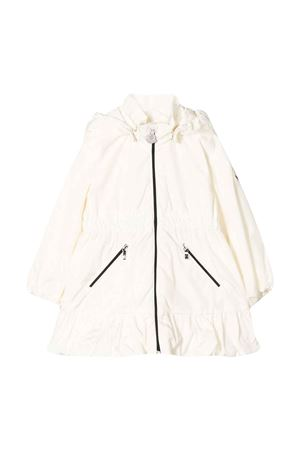 White parka with ruffles Moncler kids Moncler Kids | 13 | 1C7011054155034